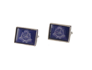 charleston flag cufflinks new orleans cufflinks
