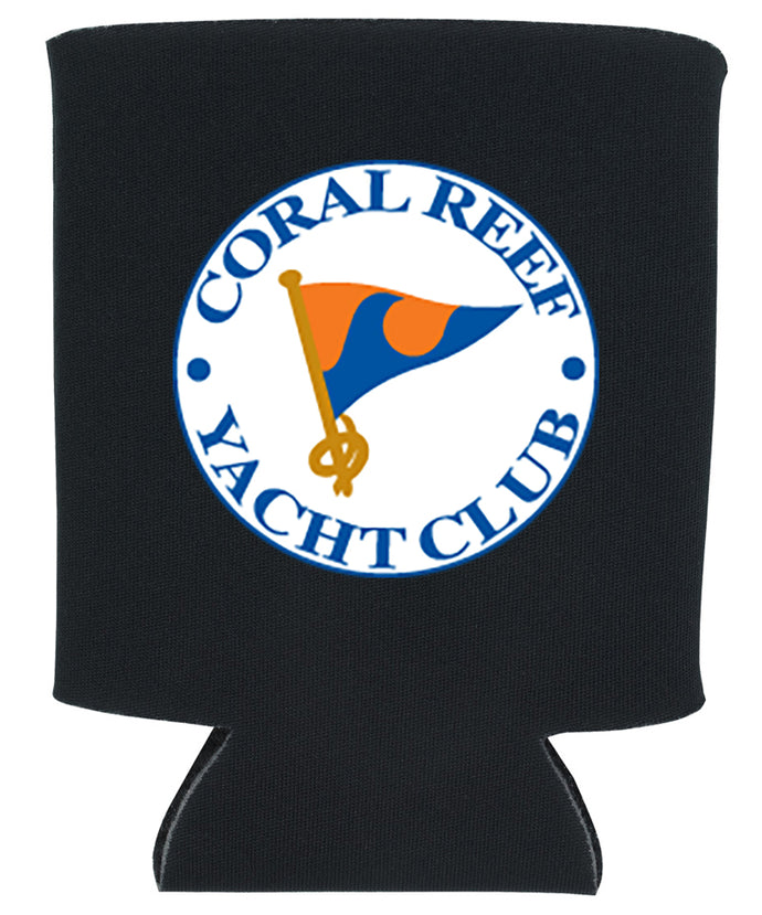 CUSTOM LOGO KOOZIE WITH CLUB LOGO NEW ORLEANS CUFFLINKS