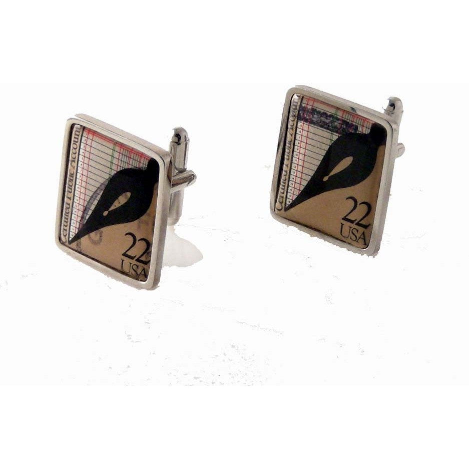 accountant cufflinks gifts for accountant new orleans cufflinks