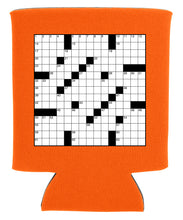 Load image into Gallery viewer, crossword puzzle koozie new orleans cufflinks