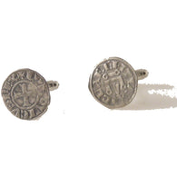 AUTHENTIC CRUSADER COIN CUFFLINKS New Orleans Cufflinks