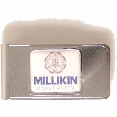 CUSTOM RECTANGLE LOGO MONEY CLIP New Orleans Cufflinks