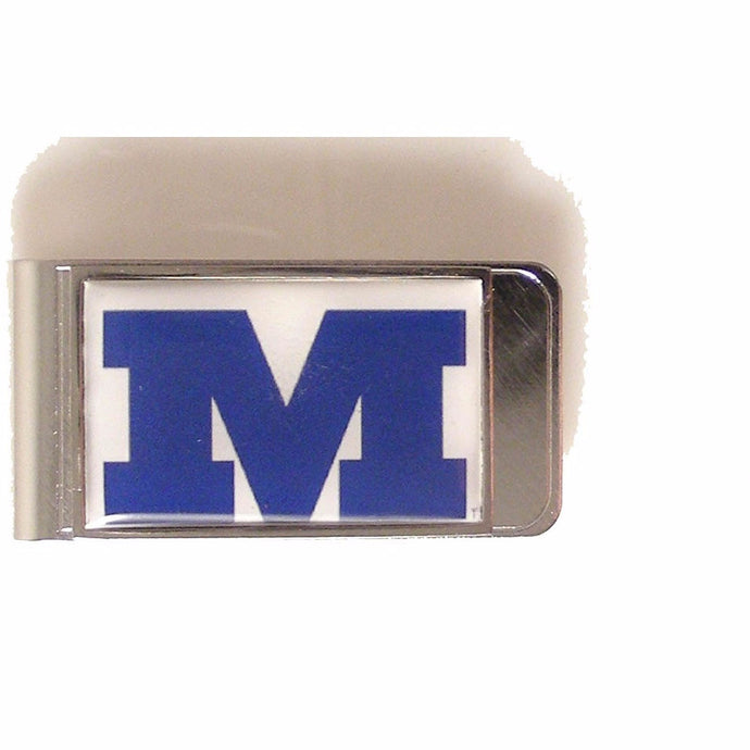 CUSTOMER LARGE RECTANGLE LOGO MONEY CLIP New Orleans Cufflinks