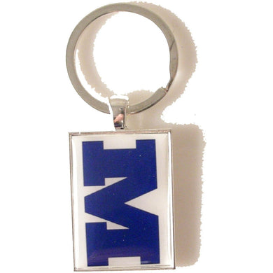 CUSTOM LOGO RECTANGLE KEY RING New Orleans Cufflinks