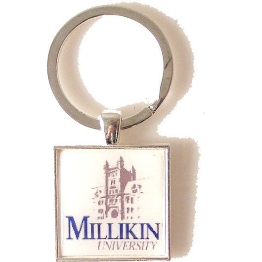 CUSTOM SQUARE LOGO KEY RING New Orleans Cufflinks