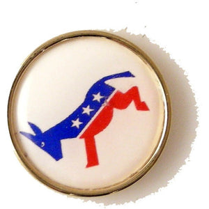 DEMOCRAT LAPEL PIN New Orleans Cufflinks