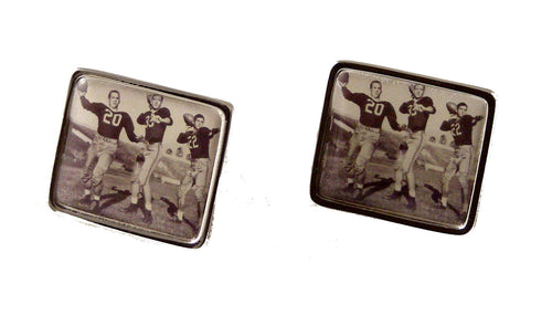 RECTANGLE CUSTOM PHOTO CUFFLINKS NEW ORLEANS CUFFLINKS