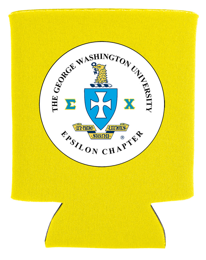 custom fraternity/sorority logo koozie new orleans cufflinks