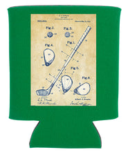 Load image into Gallery viewer, GOLF CLUB BLUEPRINT KOOZIE