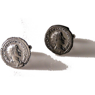 AUTHENTIC GORDIAN III ROMAN COIN CUFFLINKS New Orleans Cufflinks