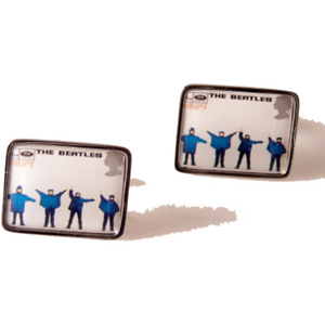 2007 THE BEATLES HELP STAMP CUFFLINKS New Orleans Cufflinks