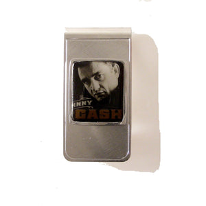 AUTHENTIC 2013 JOHNNY CASH STAMP MONEY CLIP