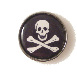 JOLLY ROGER LAPEL PIN New Orleans Cufflinks