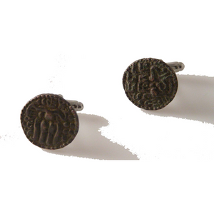 KINGDOM OF KANDY COIN CUFFLINKS New Orleans Cufflinks