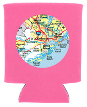 Load image into Gallery viewer, CUSTOM MAP KOOZIE NEW ORLEANS CUFFLINKS