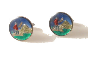 california quarter cufflinks new orleans cufflinks