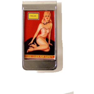 PINUP GIRL MONEY CLIP New Orleans Cufflinks