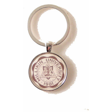 CUSTOM ROUND LOGO KEY RING New Orleans Cufflinks