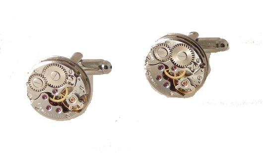 watch movement cufflinks new orleans cufflinks