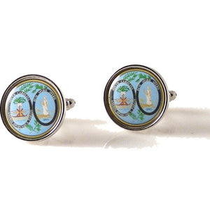 SOUTH CAROLINA STATE SEAL CUFFLINKS