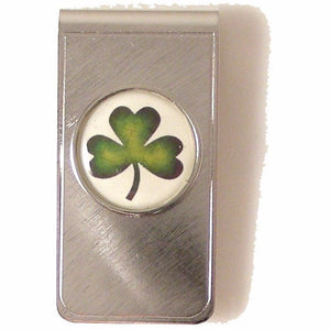 SHAMROCK MONEY CLIP New Orleans Cufflinks