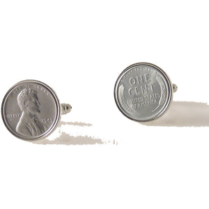 AUTHENTIC STEEL PENNY CUFFLINKS New Orleans Cufflinks