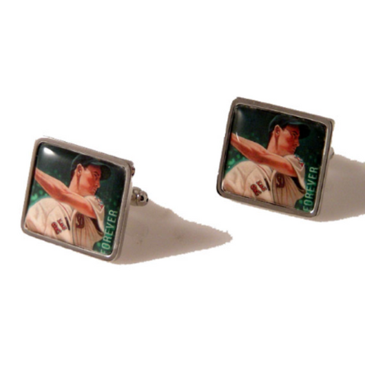 2007 TED WILLIAMS POSTAGE STAMP CUFFLINKS New Orleans Cufflinks