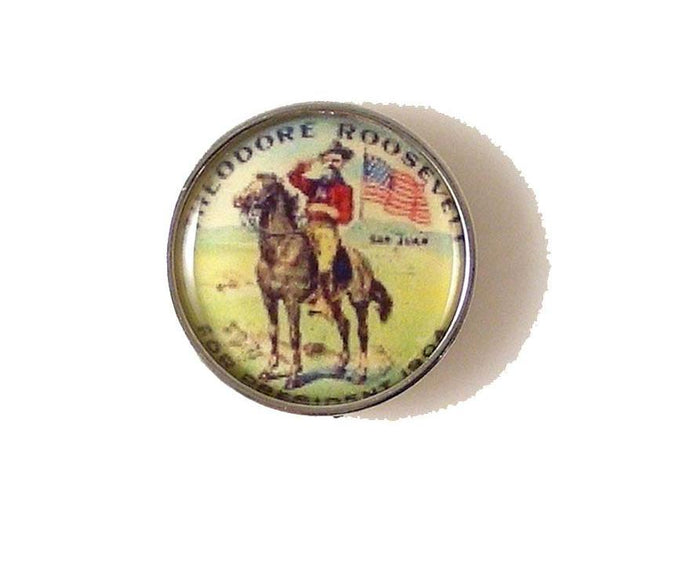 TEDDY ROOSEVELT LAPEL PIN