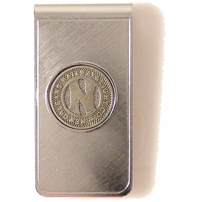 NEW ORLEANS STREETCAR TOKEN MONEY CLIP New Orleans Cufflinks
