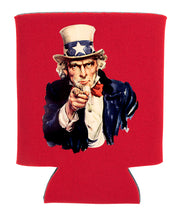 Load image into Gallery viewer, uncle sam koozie new orleans cufflinks