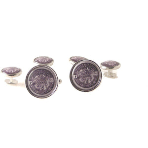 NEW ORLEANS WATER METER STUD SET New Orleans Cufflinks