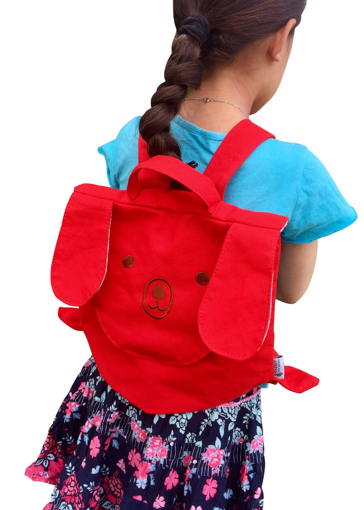 Red Dog Backpack Little Leaf Eco Nz