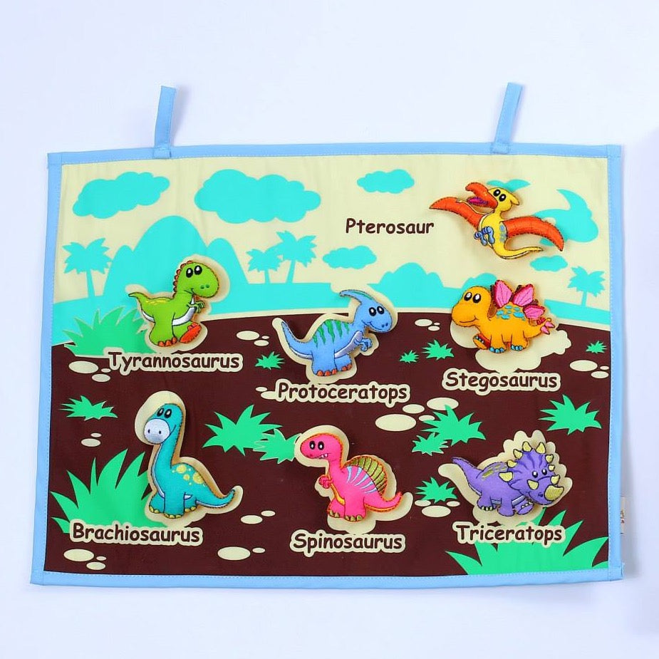 Dinosaurs Fabric Wall Chart