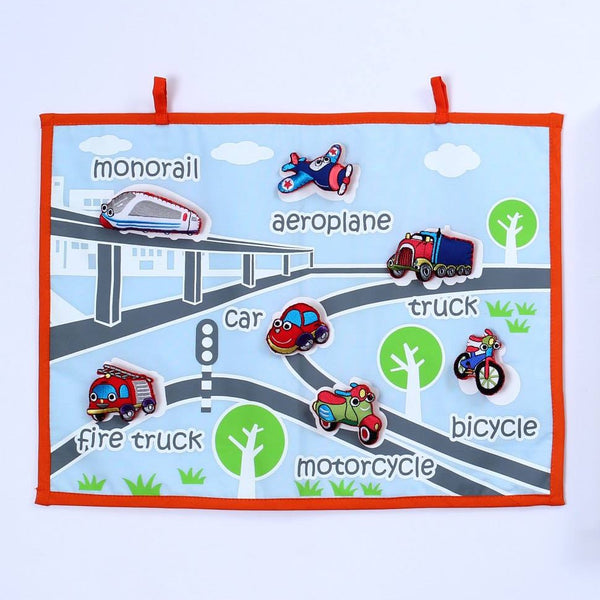 Transportation  Fabric Wall Chart