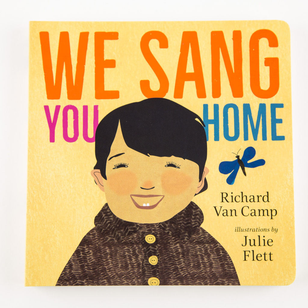 couverture d'un livre intitulé « We Sang You Home »