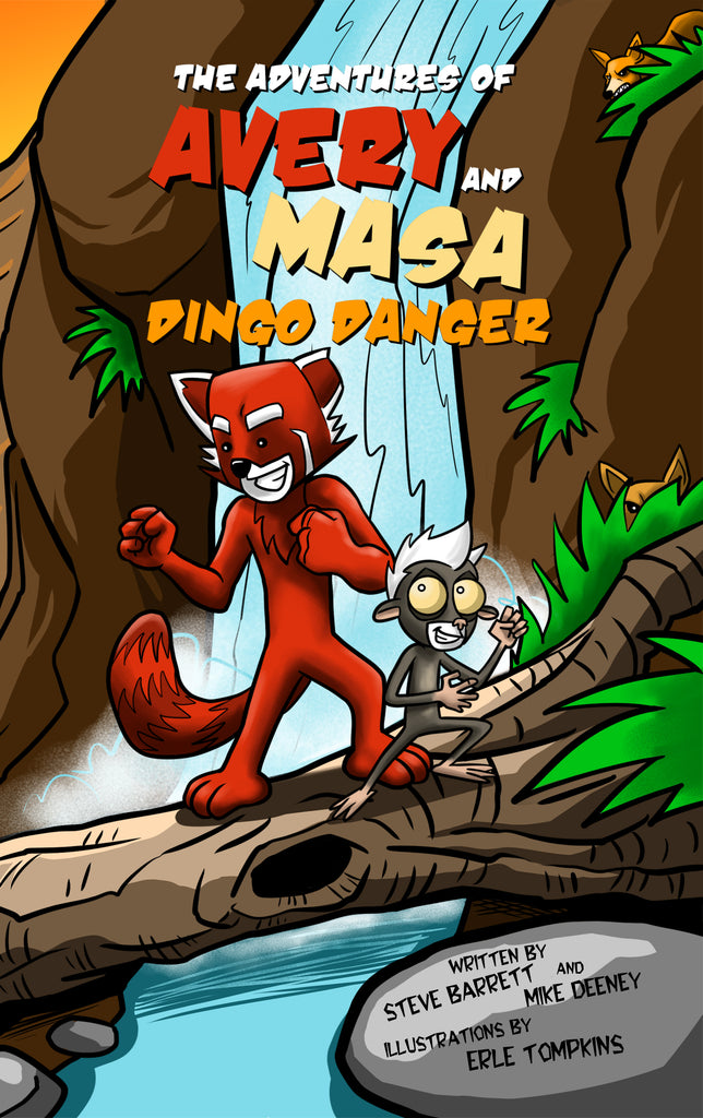 OFFICIAL RELEASE! DINGO DANGER- BOOK TWO OF SERIES AVAILABLE NOW