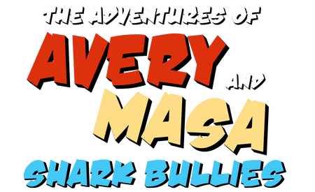 OFFICIAL TITLE OF BOOK 3: SHARK BULLIES!
