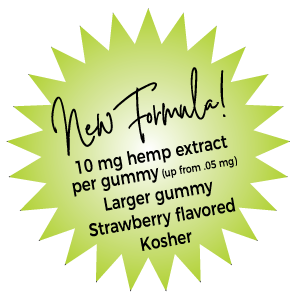 New Formula for our MIND Gummy Chews - 30 per bottle and they're BIGGER!
