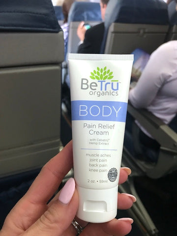 Travel with Be Tru Wellness products and carry relief with you