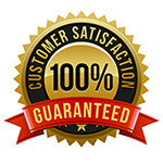 Customer Satisfaction 100% Gruaranteed