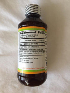 colloidal Silver 50 PPM - Nutrition Haus