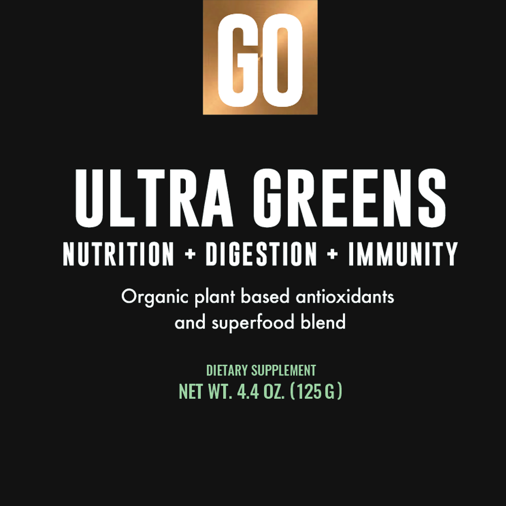 Ultra Greens - Box Label