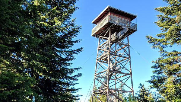 Fire Lookout Tower - Lookout Butte, Idaho