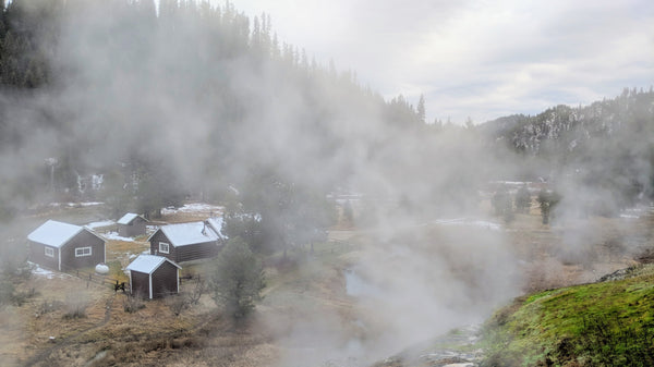 Boiling Hot Springs Cabin, Idaho