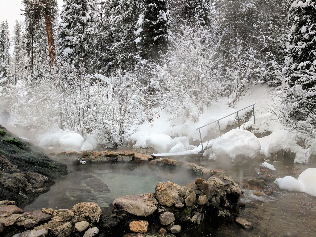 Trail Creek Hot Springs Idaho
