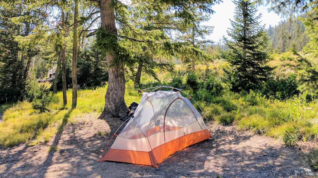 Big Agnes Tent Copper Spur stanley Idaho camping tents