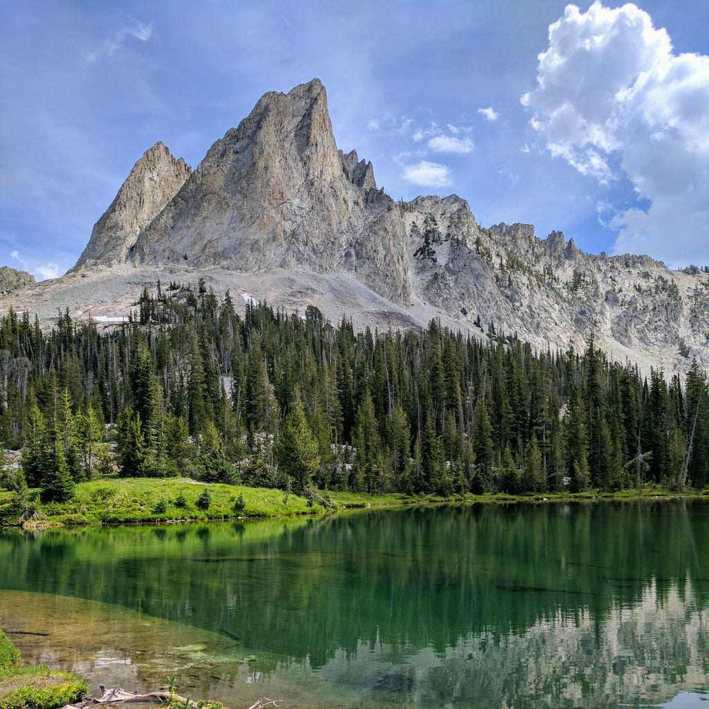 El Capitan Mountain Sawtooth Mountains Idaho