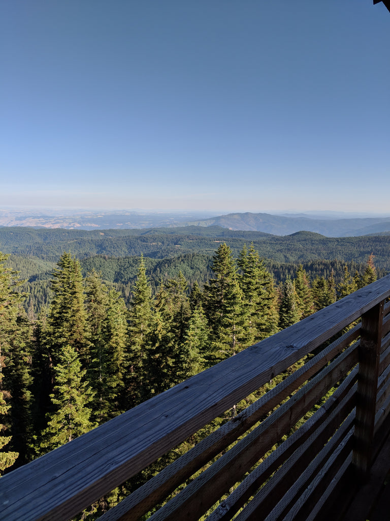 Lookout Butte Idaho fire lookout tower offline outdoors