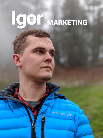 Igor Bukhantsov Offline Outdoors Idaho Marketing Manager