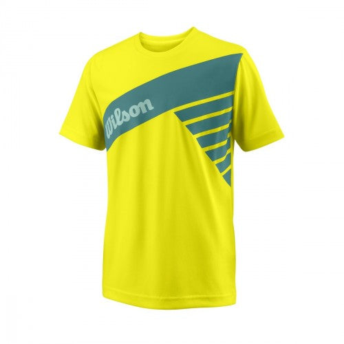 Wilson Graphic Tee Safety Yellow